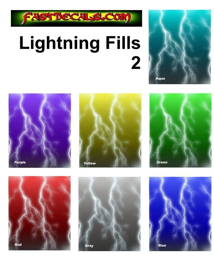 Lightning Thunder Custom Sticker