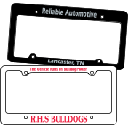 Image of License Plate Frames