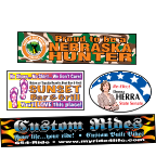 Image of 4-Color Process Bumper Stickers