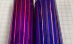 Lavender vs purple holographic vinyl