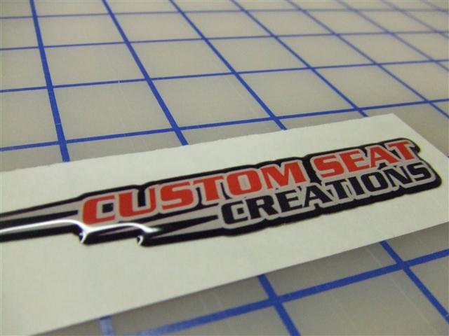 3D Decals and 3D Stickers