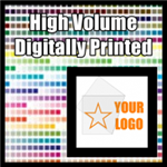 High volume digitally printed decal quote