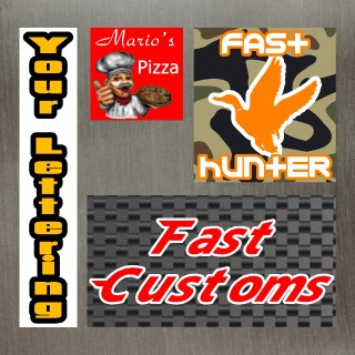 Custom Printed Decals and Stickers
