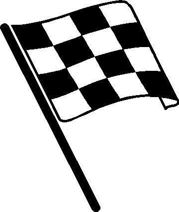 checkerd flag coloring pages - photo#43