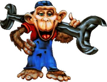 Grease Monkey Decal / Sticker 02