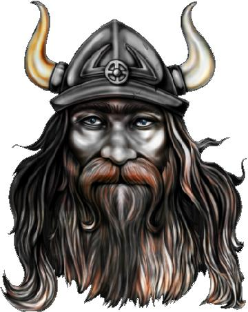 Viking Decal / Sticker 02