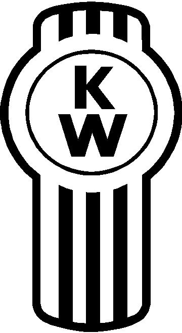 KENWORTH stickers decals emblem 4 stickers