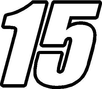 Nascar Race Car Numbers
