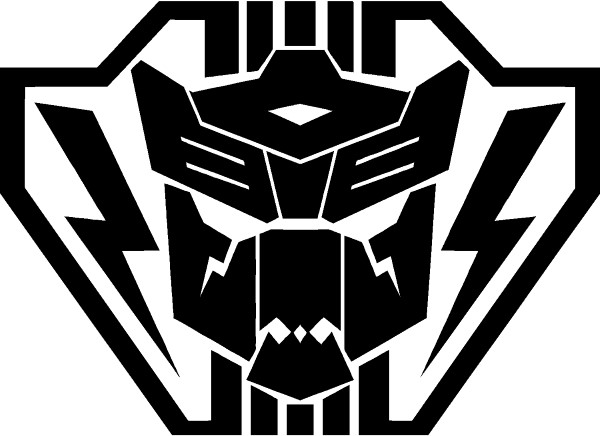 Autobot Lightning Strike Coalition Transformers Decal