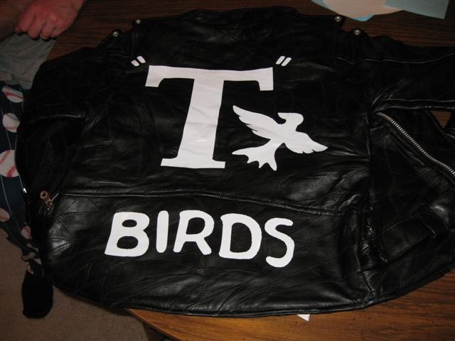 Grease T Birds Decal Sticker