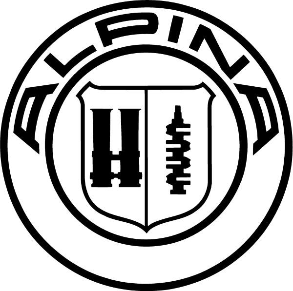Alpina Decal Sticker 02