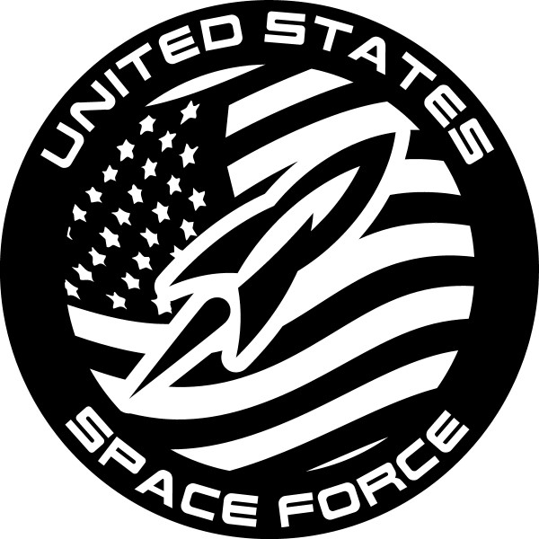 united states space force decal sticker 02 Citroen Vehicles ussf02 armed t 1531883713