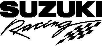 Suzuki Racing Decal Sticker 02