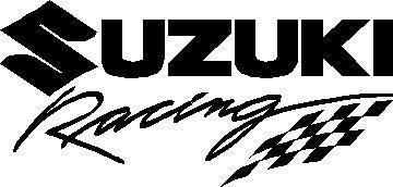Suzuki Racing Decal Sticker 05