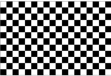picture relating to Checkered Flag Printable known as Checkered Flag Decal / Sticker 85