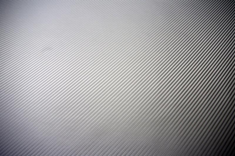 Ultimate Silver Carbon Fiber Vinyl Sheets
