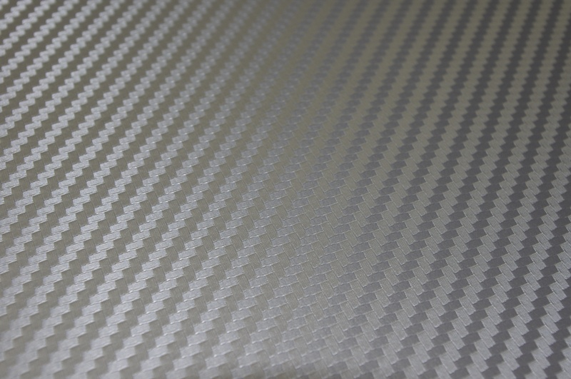 ultimate silver carbon fiber vinyl sheets