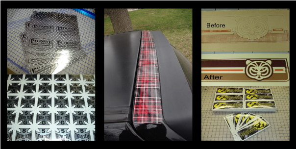 Custom Decal Examples