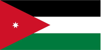 Jordan Flag Decal / Sticker