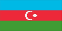 Azerbaijan Flag Decal / Sticker 01