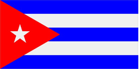 Cuban Flag Decal / Sticker 01