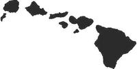 Hawaii Decal / Sticker 01
