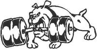 Bulldog Decal / Sticker 10