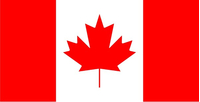Canada Flag Decal / Sticker 05
