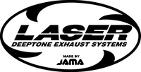 Laser Exhaust Decal / Sticker 06