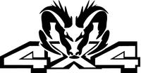 Z 4x4 Ram Decal / Sticker 33