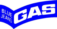 Gas Blue Jeans Decal / Sticker 01