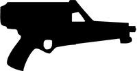 Calico 9mm Gun Decal / Sticker
