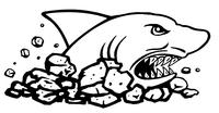 LandShark Mascot Decal / Sticker