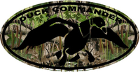 Camouflage Duck Commander Hunting Decal / Sticker