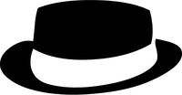 Breaking Bad Heisenberg (Walter White) Hat Decal / Sticker 26