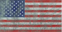 Weathered American Flag Decal / Sticker 22