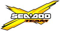 Yellow Team Sea-Doo Decal / Sticker 06