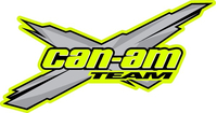 Team Can-Am Decal / Sticker 12