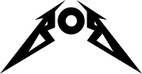 Bob Metallica Style Decal / Sticker 01