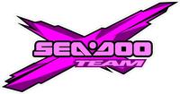 Pink Team Sea-Doo Decal / Sticker 29
