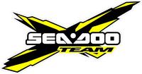 Yellow Team Sea-Doo Decal / Sticker 30