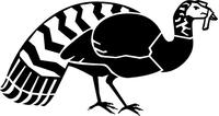 Turkey Decal / Sticker 02