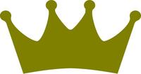 Kansas City Baseball Crown Decal / Sticker 05