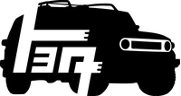 Toyota FJ Cruiser Decal / Sticker 08