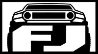 Toyota FJ Cruiser Decal / Sticker 01