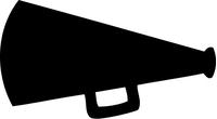Cheer Horn Decal / Sticker 01