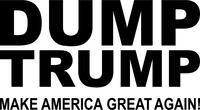 Dump Trump Decal / Sticker 01