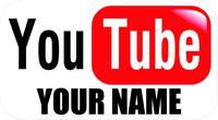 YouTube Decal / Sticker 04