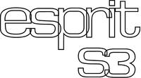 Lotus Esprit S3 Decal / Sticker 07