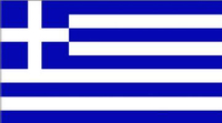 Greek Flag Decal / Sticker